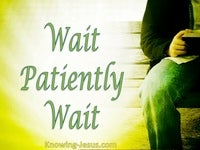 Wait Patiently Wait